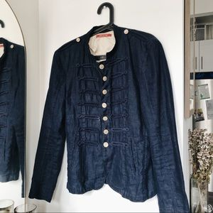 Other - Navy Blue Colonial Jacket